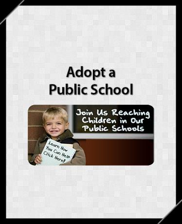 Adopt a Public School through CEF Chattanooga